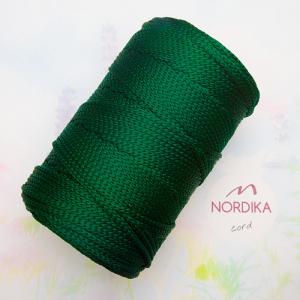 Шнур Nordika Cord поліефірний 3 мм темно-зелений 01-008