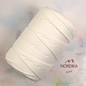 Шнур Nordika Cord поліефірний 3 мм білий 01-025