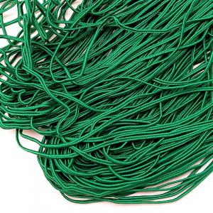 Сутаж для макраме зелений 100 м