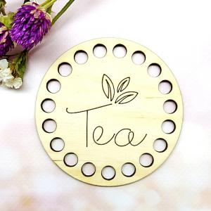 Заготовка з дерева 9 см Tea