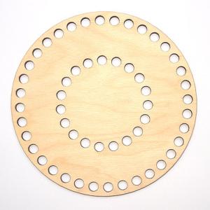 Заготовка з дерева кругла 16 см органайзер