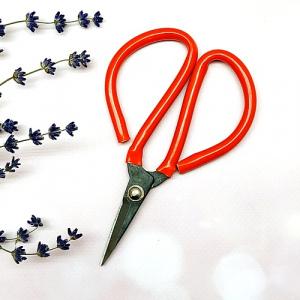 Ножиці 13,5 см з червоними кільцями 16-03