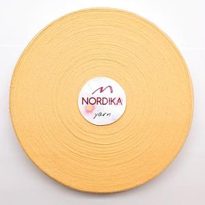 Трикотажна пряжа Nordika Yarn 7-9 мм РОЛІК диня 79-039