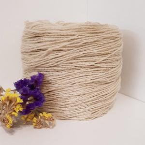 Пряжа з вовни Nordika Wool біла 02-002