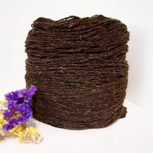 Пряжа з вовни Nordika Wool шоколад 02-010