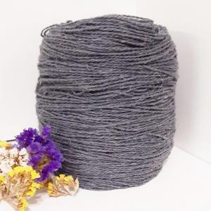 Пряжа з вовни Nordika Wool сіра 02-012