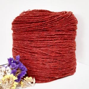 Пряжа з вовни Nordika Wool червона 02-016
