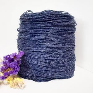 Пряжа з вовни Nordika Wool синя 02-017