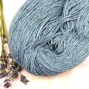 Пряжа з вовни Nordika Wool блакитна 02-019