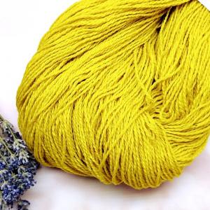 Пряжа з вовни Nordika Wool Merino жовта 02-025