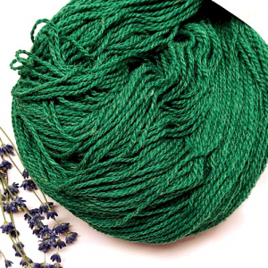 Пряжа з вовни Nordika Wool Merino зелений 02-027