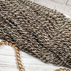 Пряжа з вовни Nordika Wool зебра коричнева 02-023