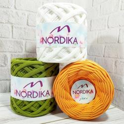Трикотажна пряжа Nordika Yarn 5-7 мм