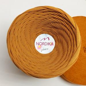 Трикотажна пряжа Nordika Yarn 7-9 мм карамель 79-008