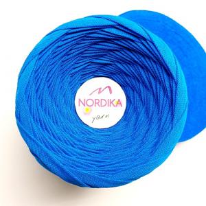 Трикотажна пряжа Nordika Yarn 7-9 мм волошкова 79-010