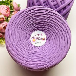 Трикотажна пряжа Nordika Yarn 7-9 мм крем-брюле 79-011