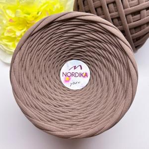 Трикотажна пряжа Nordika Yarn 7-9 мм візон 79-026