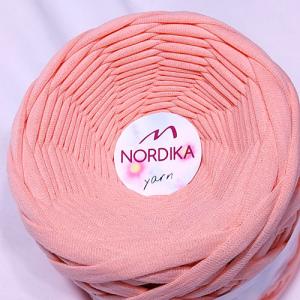 Трикотажна пряжа Nordika Yarn 7-9 мм персик 79-035