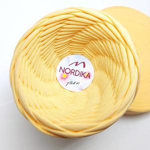 Трикотажна пряжа Nordika Yarn 7-9 мм диня 79-039