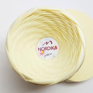 Трикотажна пряжа Nordika Yarn 7-9 мм банан 79-042